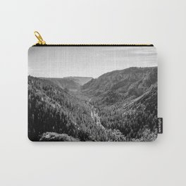 Black & White Arizona Carry-All Pouch