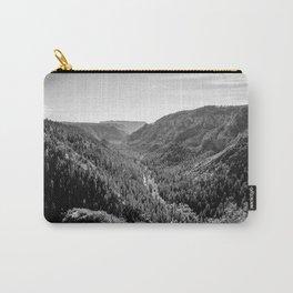 Black & White Arizona Carry-All Pouch