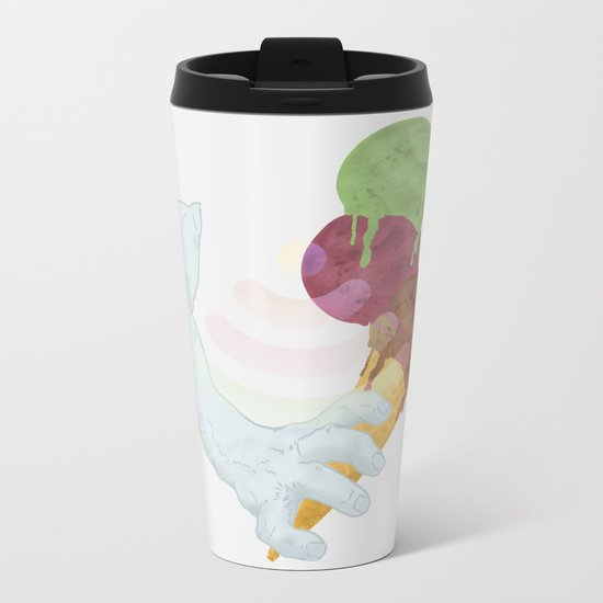 Three Summer Flavors Metal Travel Mug