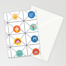 Letter Stickers Stationery Cards