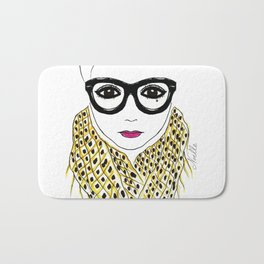Alicia Frank Custom Bath Mat