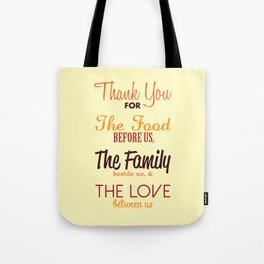 Thanksgiving Grace | Fall Colors Tote Bag