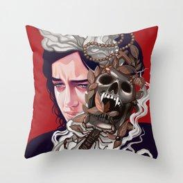 Vanessa's Nightmares Throw Pillow