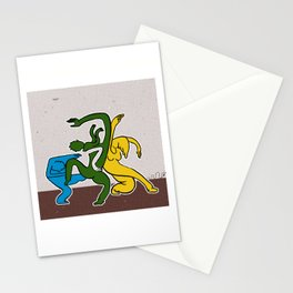 Martha Graham meets the street Stationery Cards