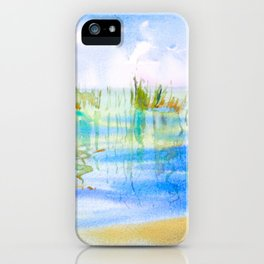 Reeded Lake iPhone Case