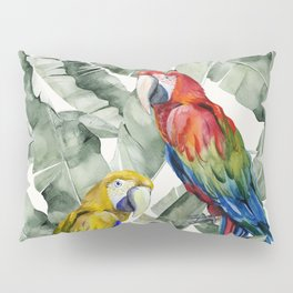 PARROTS IN THE JUNGLE Pillow Sham
