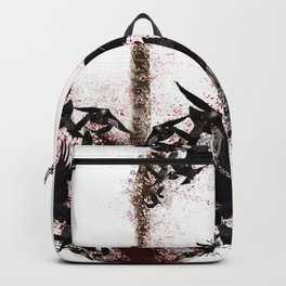 Crows inside the core Backpack