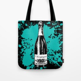 Champagne Explosion Tote Bag