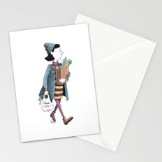 Grocery Shopping Stationery Cards