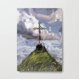in memoriam. Terra_ Metal Print