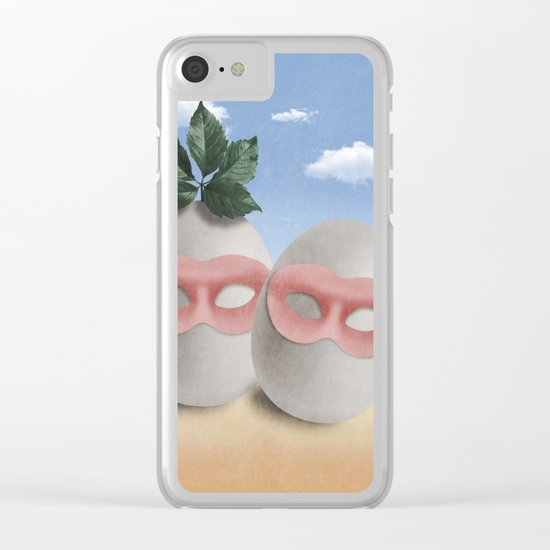 TRIBUTE TO R.M. (surreal) Clear iPhone Case