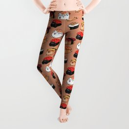 Sushi Pomeranian Leggings
