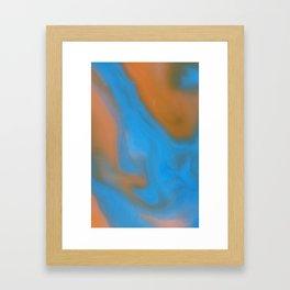 Milky Way Popsicle Framed Art Print