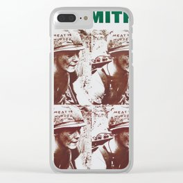 The Smiths - Meat Is Murder Clear iPhone Case