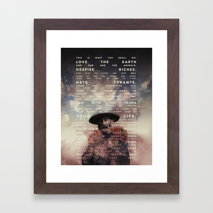 This is what you shall do Framed Art Print