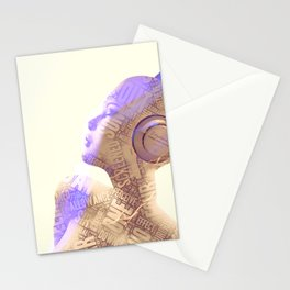 Your Words Are Meaningless II Stationery Cards