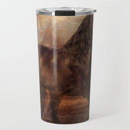 Ebony and Ivory Travel Mug