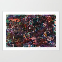Kerazee Art Print