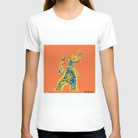 rasta T-shirts featuring Rasta Shaman by Dmitry Tikov