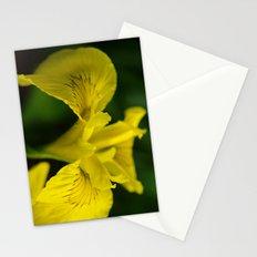 Yellow Iris Stationery Cards
