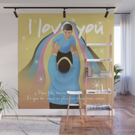 Give Me Your Heart Wall Mural