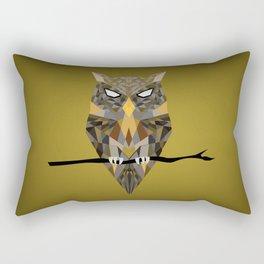 Diffracted Owl Rectangular Pillow
