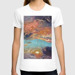 painted skies T-shirt