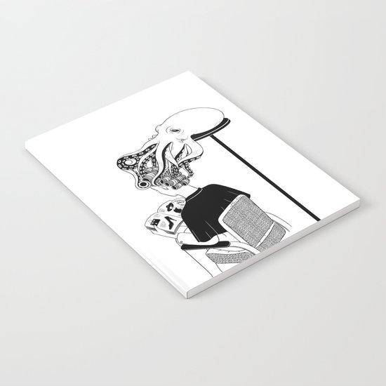 Octopus Salon Notebook