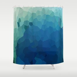 Sea Moon Love Shower Curtain