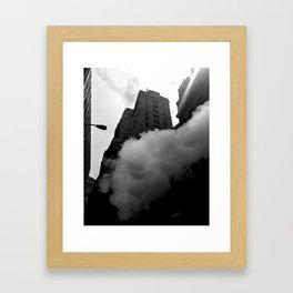 Gotham City - New York photography Framed Art Print