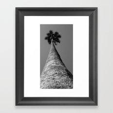 Blurry Palm Framed Art Print