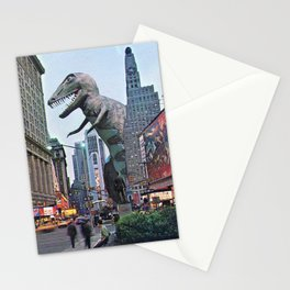 The Dinosaur Attack Stationery Cards