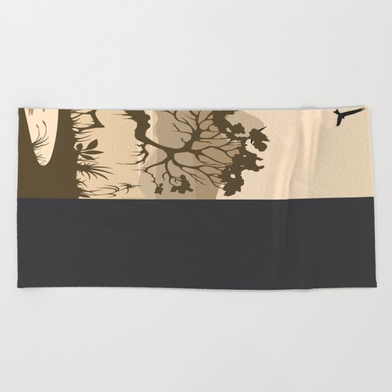 My Nature Collection No. 56 Beach Towel