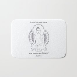 The Mind is Everything Bath Mat