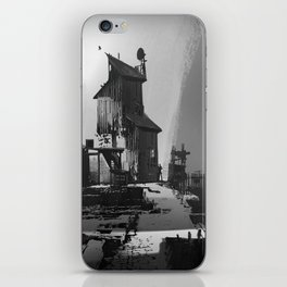 Wooden House iPhone Skin
