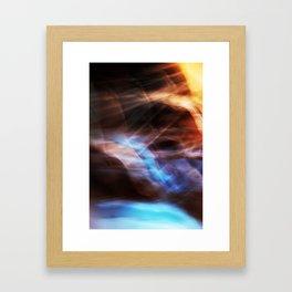Passing Storm Framed Art Print