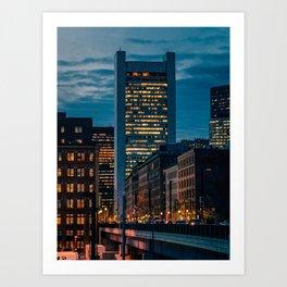 Bostons World Art Print