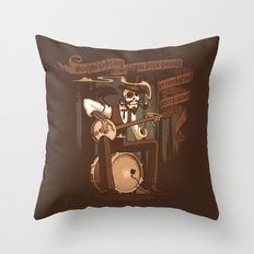 Doc Franklin's Miracle Tonic Throw Pillow