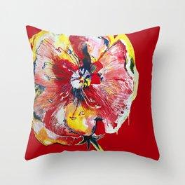 FLOWER WIFEY Throw Pillow