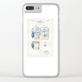 Vintage Camera Art - Twin Lens - By Sharon Cummings Clear iPhone Case