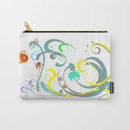 sunny beach -de2 Carry-All Pouch