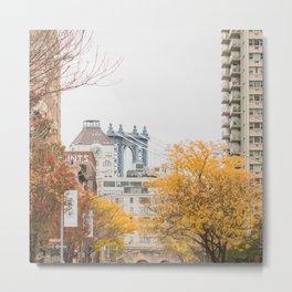 Brooklyn Autumn Metal Print