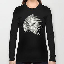 Indian Skull Long Sleeve T-shirt