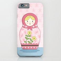 Matryoshka Doll (pink) iPhone 6s Slim Case