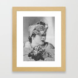 LADY WEAPON Framed Art Print