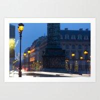 Place Vendome, Paris, France Art Print