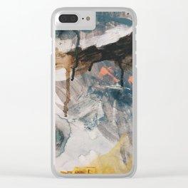 Paint 2 Clear iPhone Case