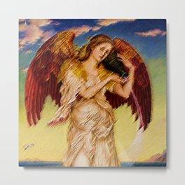 Classical Masterpiece 'Eos' by Evelyn de Morgan Metal Print