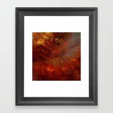 Dehiscence 6 Framed Art Print