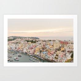 Island of Procida Art Print